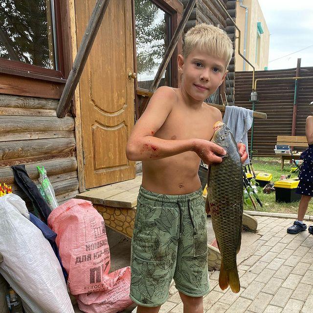 Отдых и рыбалка с детьми
