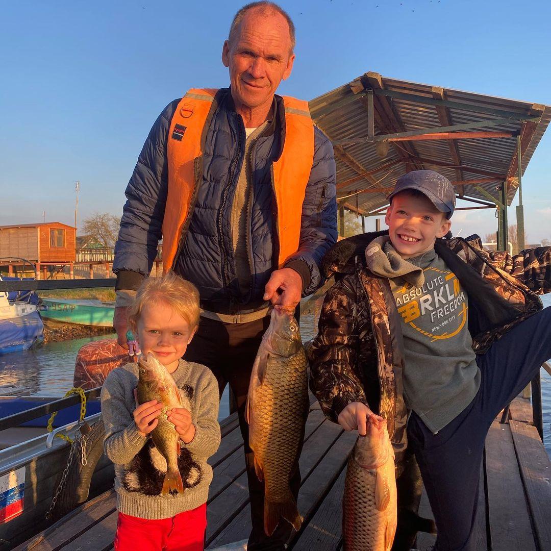 Отдых и рыбалка с семьей